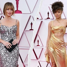 6 '90s & 2000s Fashion Trends At The 2021 Oscars