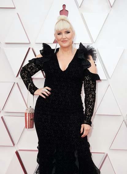 Eryn Krueger Mekash at the 2021 Oscars