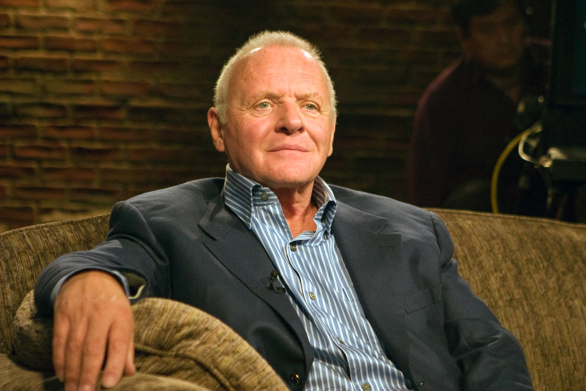 Anthony Hopkins looking stately