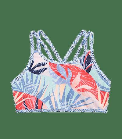 Palm Oasis Reversible Bikini Top