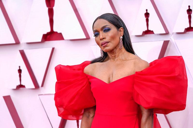 Angela Bassett at the 2021 Oscars