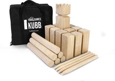 Kubb Premium Size Outdoor Tossing Game