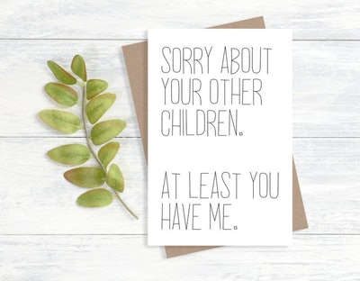 Sorry About Your Other Children