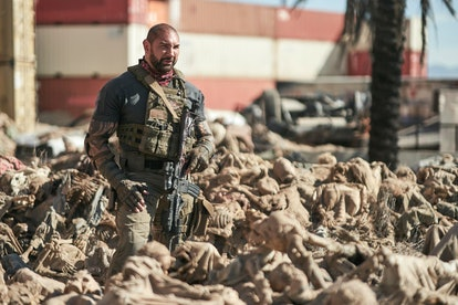 Dave Bautista stars in 'Army of the Dead.' Photo via Netflix
