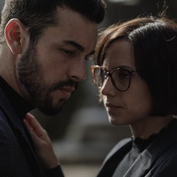Mario Casas as Mateo Vidal & Aura Garrido as Olivia Costa in 'The Innocent' via Netflix's press site