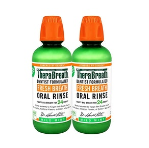 TheraBreath Fresh Breath Oral Rinse (2-Pack)