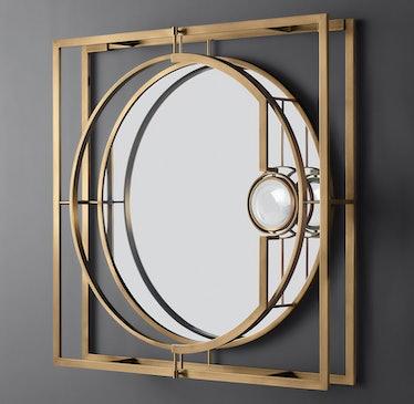 Aperture Square Mirror