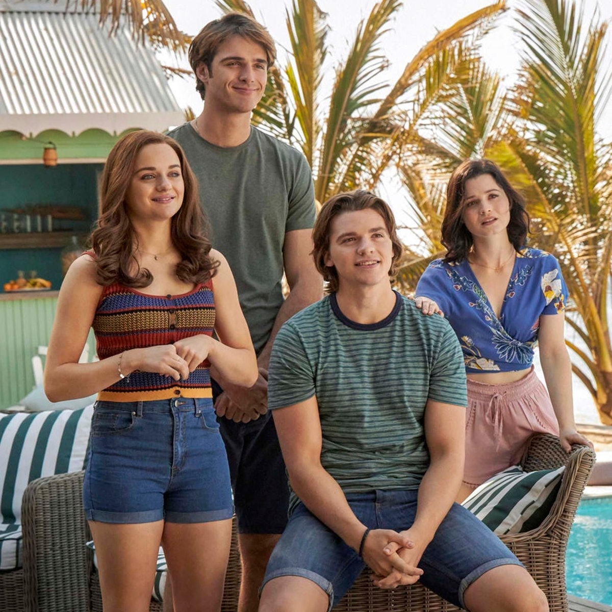 The cast of The Kissing Booth 3.