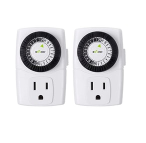 BN-LINK Indoor Outlet Timer (2-Pack)
