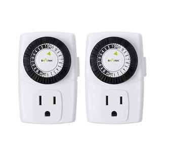 BN-LINK Indoor Outlet Timer (2-Pack)
