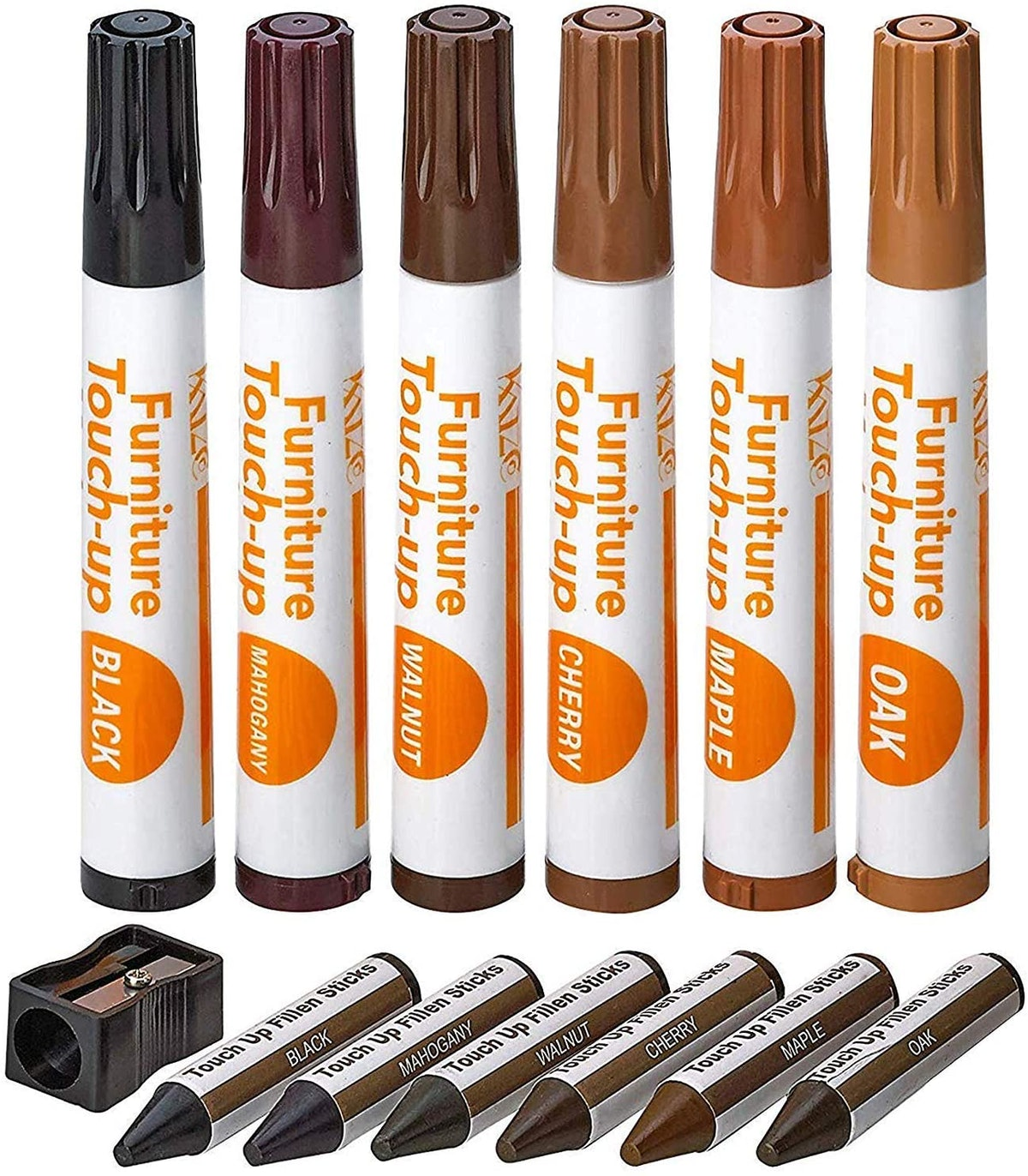 Katzco Furniture Repair Kit Wood Markers (Set of 13)