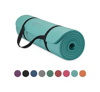 Gaiam Essentials Thick Yoga Mat