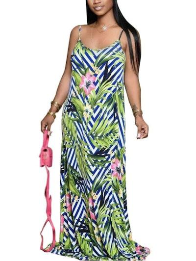 WOOSEN Summer Maxi Dress