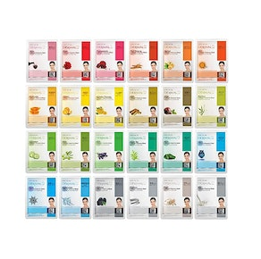 DERMAL Facial Mask Sheet (24-Pack)
