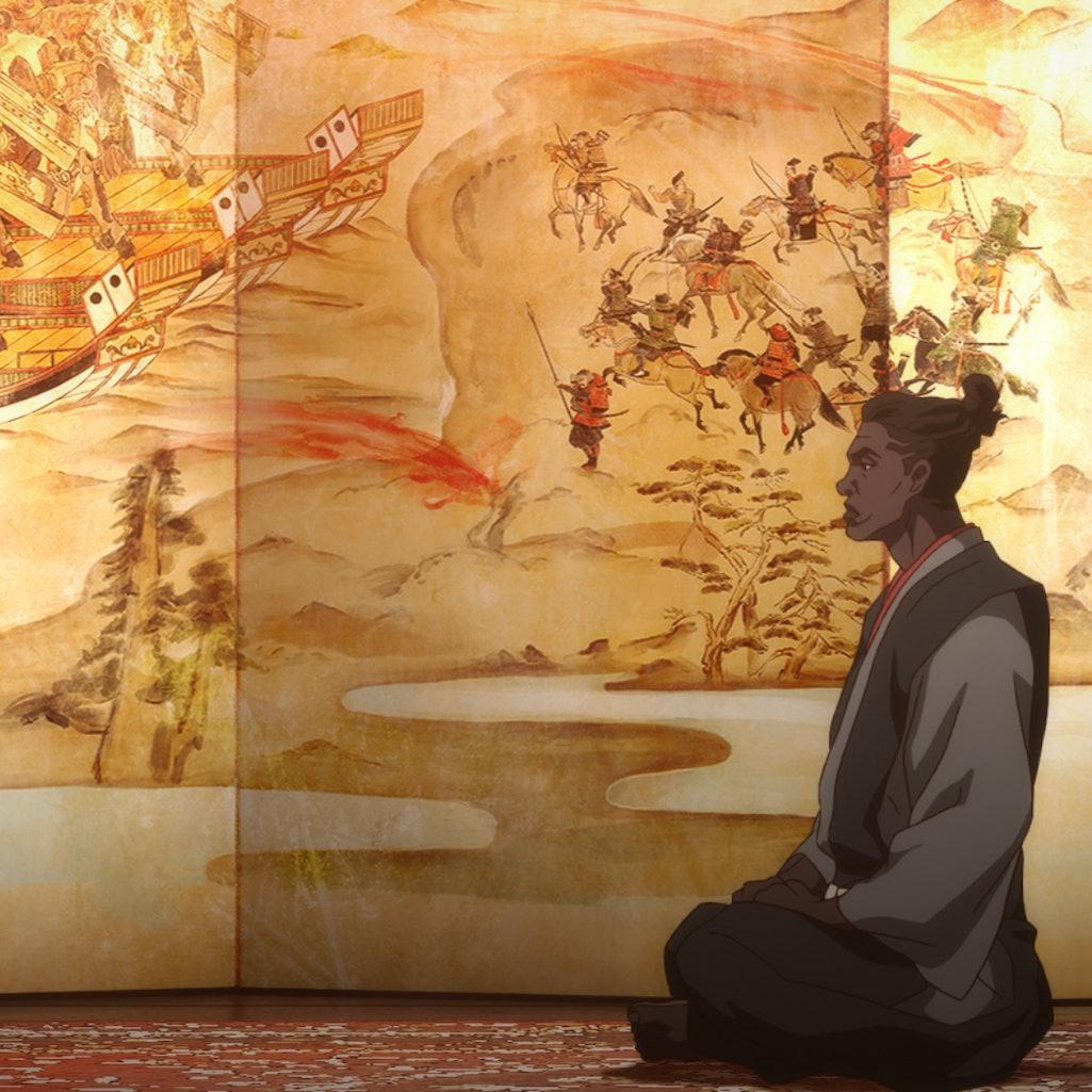 Yasuke. Photo via Netflix