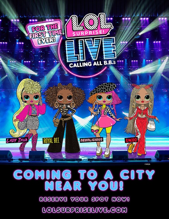 'L.O.L. Surprise!' is going to have live concerts.