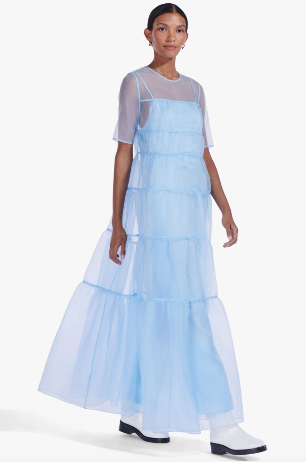 Hyacinth Dress French Blue