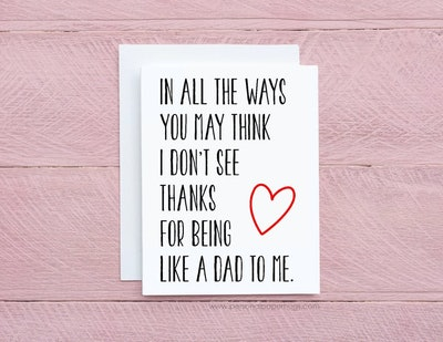 Sentimental Father's Day Card