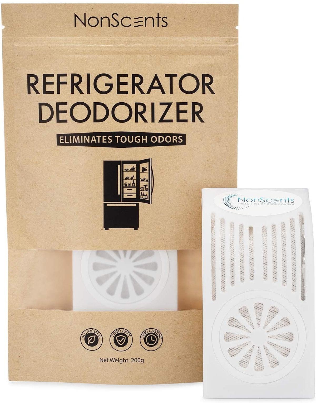 NonScents Refrigerator Deodorizer - Fridge and Freezer Odor Eliminator