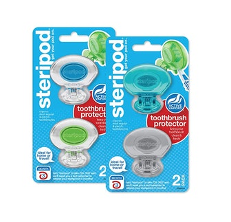 Steripod Clip-On Toothbrush Protector (2-Pack)