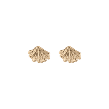 Venus Gold Stud Earrings