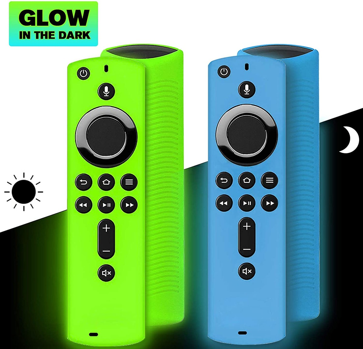 Wevove Fire TV Stick Remote Cover (2-Pack)