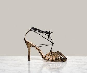 Finn Sandals in Retro Gold