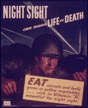 world war two carrots propaganda