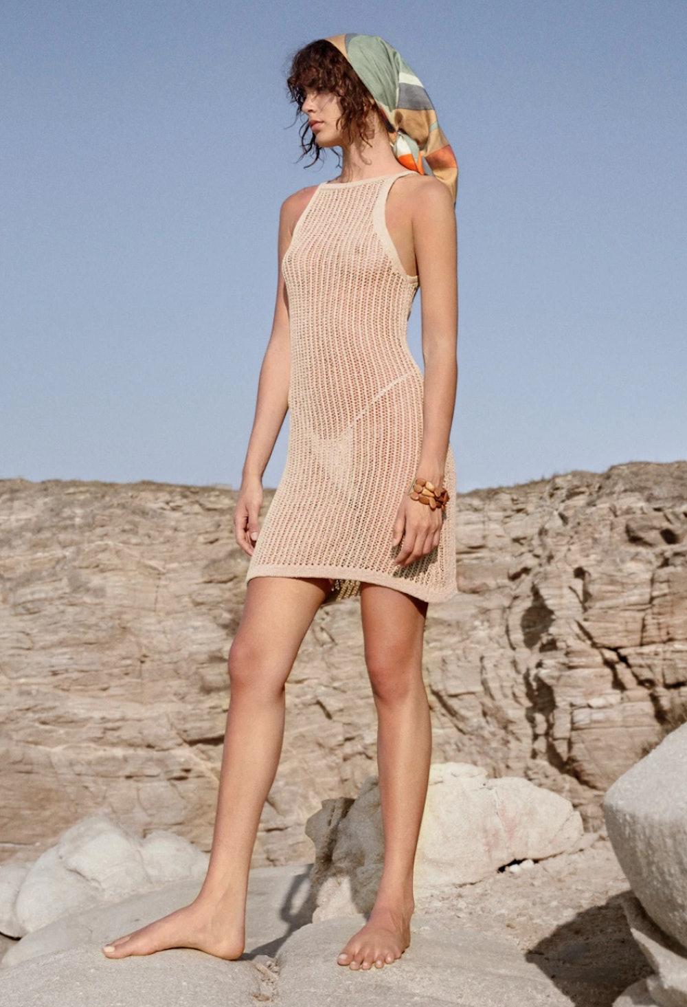 Yara Crochet Dress