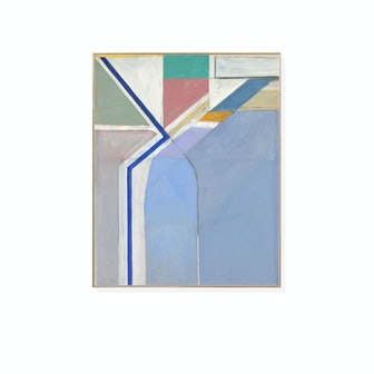 Richard Diebenkorn: Ocean Park No. 24 Framed Print