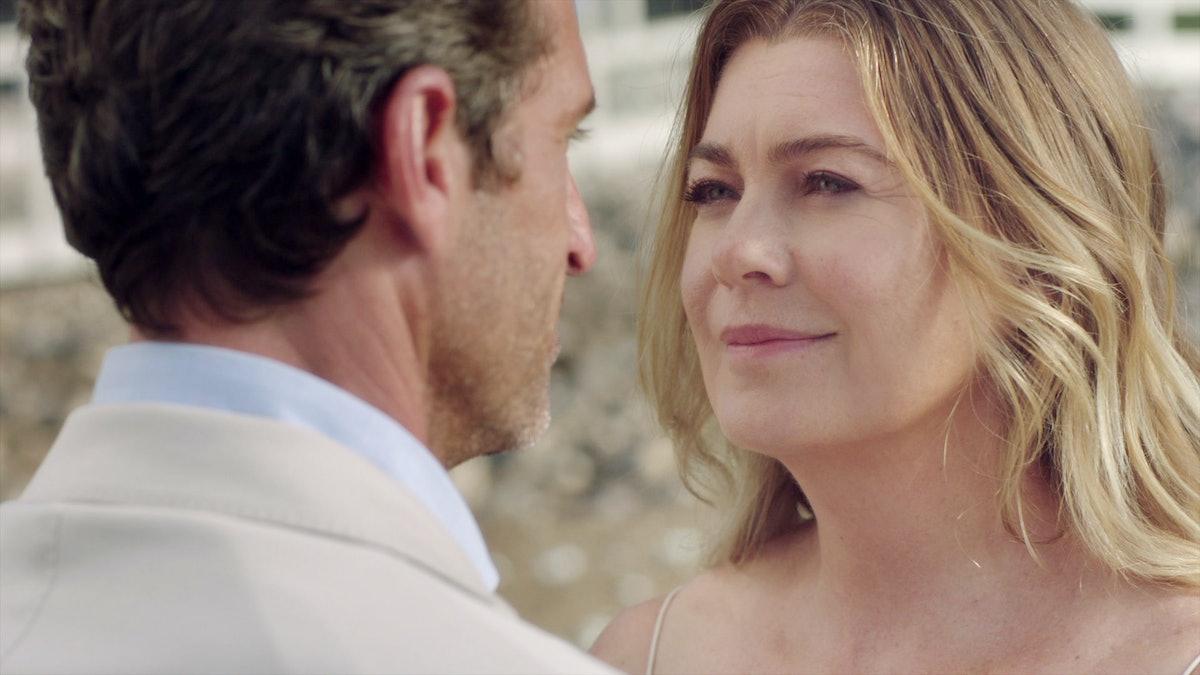 ELLEN POMPEO, PATRICK DEMPSEY in Grey's Anatomy