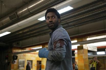John David Washington stars in 'Beckett' this August. Photo via Netflix