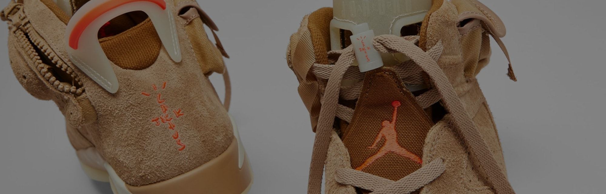Travis Scott Air Jordan 6 British Khaki