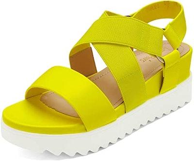 DREAM PAIRS Platform Wedge Sandals