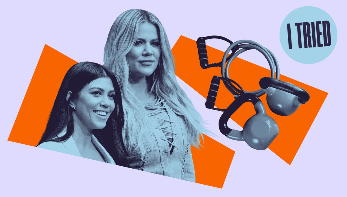 Kourtney and Khloé Kardashian –I Tried Working Out With Kardashian Trainer Don Brooks for Elite Daily
