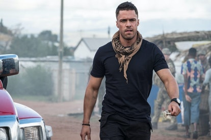 Olly Rix in 'Our Girl'