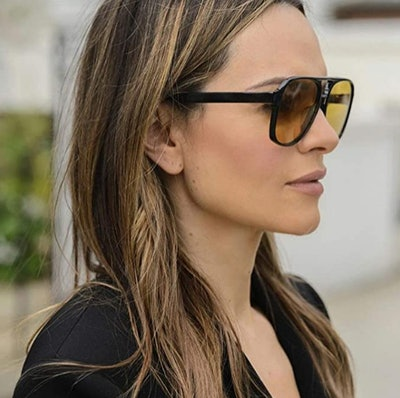 PAMIX Retro Aviator Sunglasses