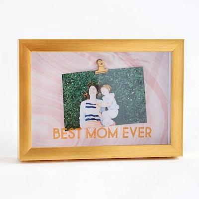 Best Mom Marble Frame