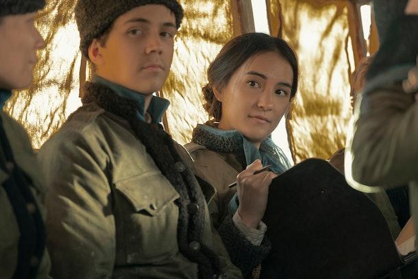 Jessie Mei Li as Alina Starkov in Shadow and Bone