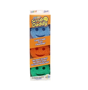 Scrub Daddy Colors FlexTexture Sponge (3 Count)