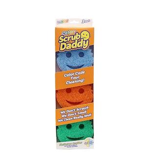 Scrub Daddy Colors FlexTexture Sponge (3 Count)