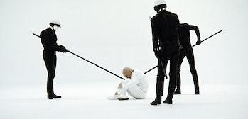 The white void torture in THX 1138