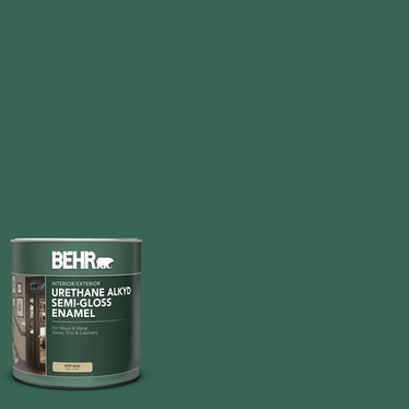 Billiard Green Semi-Gloss Enamel Paint - 1 Gallon