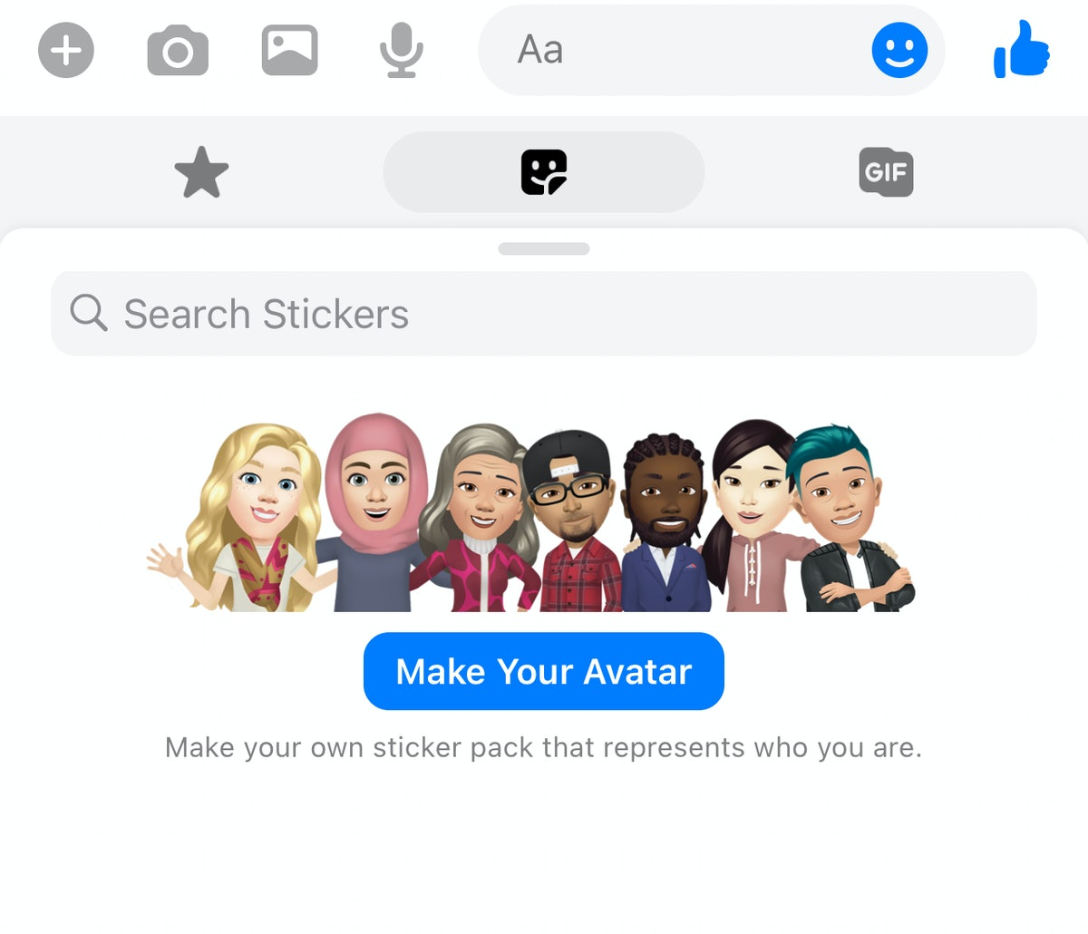 You can create a Facebook Avatar in Messenger by following a few easy steps.