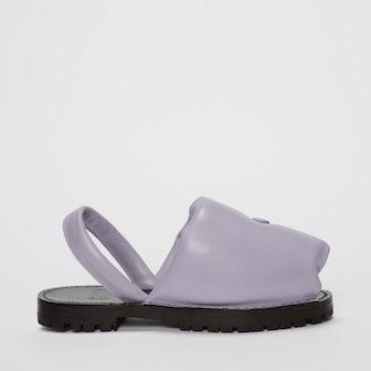 Ottomana Lilac Nappa Slide