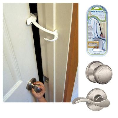 Door Monkey Child Proof Door Lock & Pinch Guard