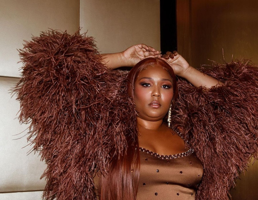 Lizzo wearing KVD Beauty's new ModCon Liquid Gel Blush