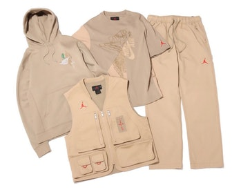 Travis Scott Air Jordan British Khaki Apparel