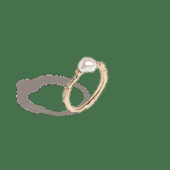 Venus Organic Pearl Gold Ring