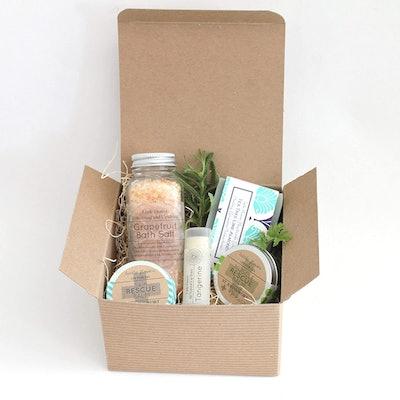 The Little Flower Shop Co. Spa Gift Basket